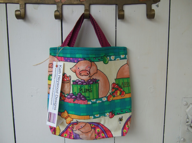Child's Small Book Bag