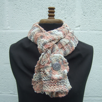 Ladies Knitted Scarf