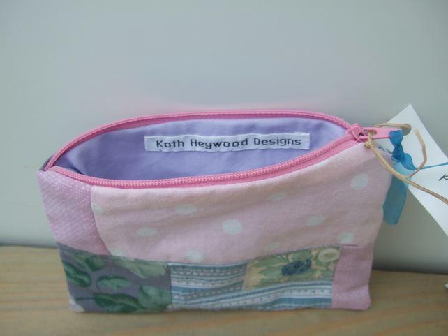 Patchwork Make Up Bag