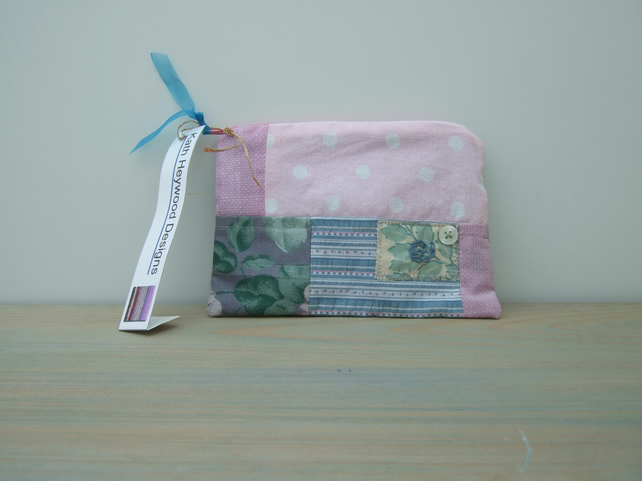 Handmade Patchwork Make Up Bag