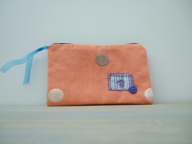 Zipped Fabric Pouch