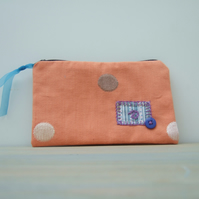 Reduced to clear - Zipped Wallet - Pouch
