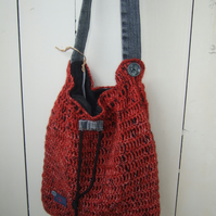 Large Crossbody Bag - Craft Bag - Festival Bag