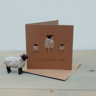 Mothers Day Card - Sheep and Lambs