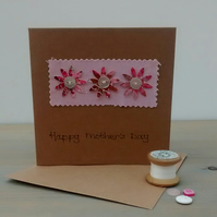 Mother's Day Card - Flowers - Floral Card