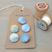 Silk Buttons, Handmade Buttons, Sewing Gifts