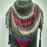 Triangular Scarf - Shawl