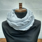 Scarf Cowl in Silver Birch Aran