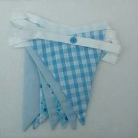 Bunting, Baby Blue, Nursery Decor