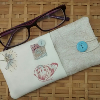 Spectacles Case - Glasses Case - Ladies Eco Gift
