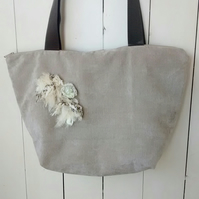 Ladies Beige Bag