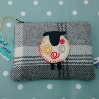 Pouch - Sheep - Grey Check