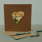 Heart Greetings Card - 30th Anniversary Card - Valentine Cards