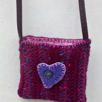 Little Girl's Bag with Heart