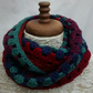 Crocheted Cowl - Multicoloured