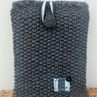 Kindle Fire Cover, Grey with an Anchor Button