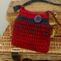 Girl's Crocheted Bag