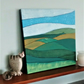 Original Abstract Painting, Summer Fields