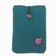 Kindle Cover in Dark Teal