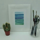 Original Watercolour Painting, Sea 1