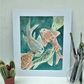 Original Watercolour Painting, Koi 4