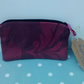 Burgundy Make Up Bag
