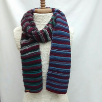 Men's Stripy Scarf