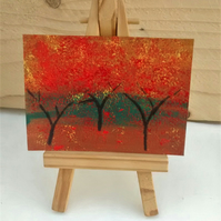 ACEO, Red Autumn
