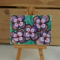 ACEO Flower Design 4