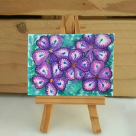 ACEO Flower Design 5