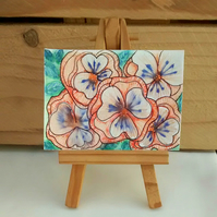 ACEO Flower Design 6