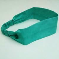 Hair Band with Side Buttons for Face Mask
