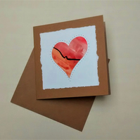 Valentine's Card, Ruby Wedding Anniversary Card
