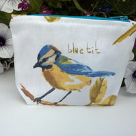 Blue Tit Coin Purse.