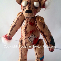 Halloween Unloved Zombie Ted no.3