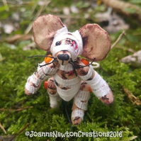 Halloween Unloved Tiny Mummy Mouse