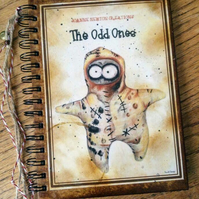 Coffee Crazy Odd One A5 Notebook