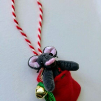 Unloved Teeny Mouse in Stocking