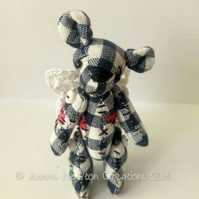 Unloved Picnic Flutter Bear 'Midnight'