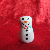 Snowman - Clay Miniature