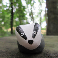 Badger - Clay Miniature
