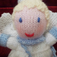 Tooth Fairy knitted