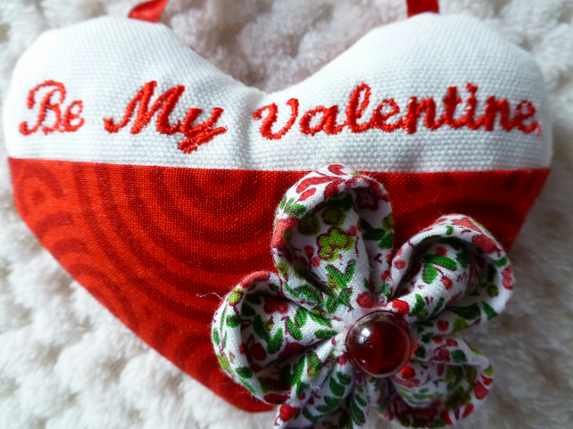 Valentine heart with pocket