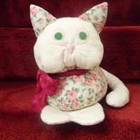 Cat - soft toy - shelf sitter
