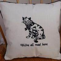 Cushion Cover Alice in Wonderland Cheshire Cat