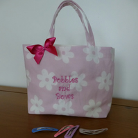 Bobble and  Bow Bag