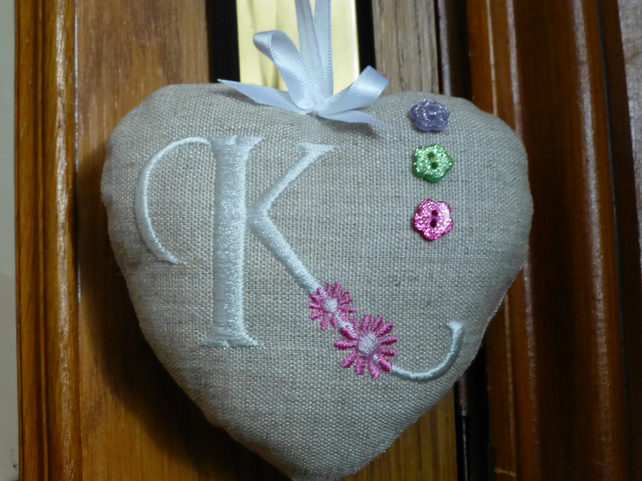 Personalised Fabric Heart