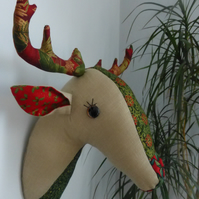 Christmas reigndeer faux taxidermy