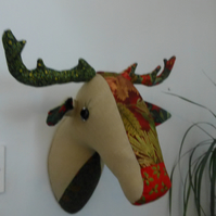 Faux taxidermy - reindeer christmas