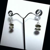 Custom Listing for IonaRose Cute Silver Pearl in Shells Mermaid Earrings